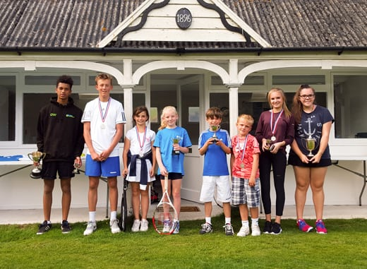 Perran  Tennis Junior Club Championships 2015
