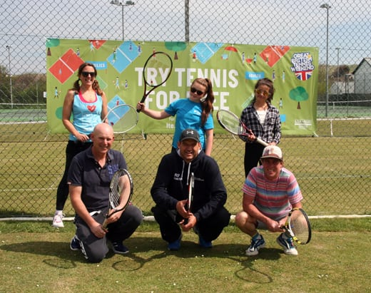 The Great British Tennis Weekend at Perran Tennis 2016